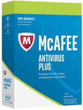 McAfee AntiVirus Plus Unlimited 2019