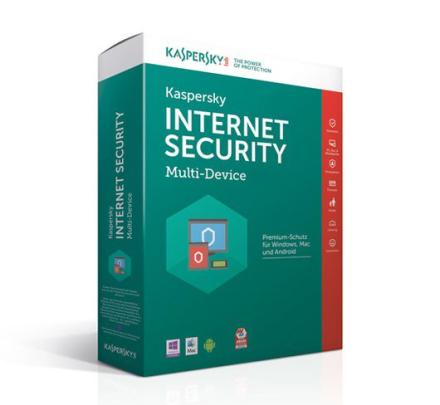 Kaspersky Internet Security Multi-Device 2018 - 3 enheter / 3 år