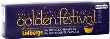 """Kaffekapslar """"Golden Festival"""" - 37% rabatt"""