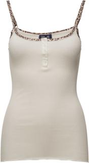 Jena T-shirts & Tops Sleeveless Creme BAUM UND PFERDGARTEN
