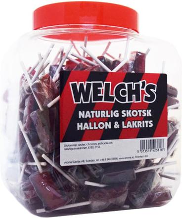 Klubbor med smak av hallon/lakrits - 62% rabatt