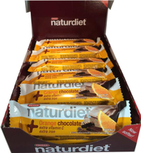 Hel låda Naturdiet Mealbar Orange Chocolate - 58% rabatt