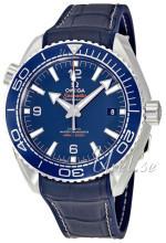 Omega 215.33.44.21.03.001 Seamaster Planet Ocean 600M Sininen/Kumi Ø43.5 mm