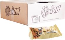 "Hel Låda Godisbar ""Lion Mini White"" 5kg - 75% rabatt"