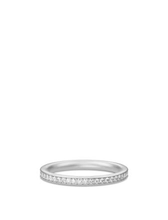 Infinity Ring - Rhodium