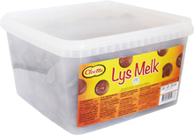 Choklad Lys Melk - 40% rabatt