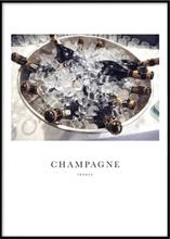 CHAMPAGNE - Poster 50x70 cm