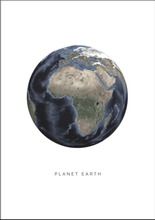 PLANET EARTH - Poster 50x70 cm