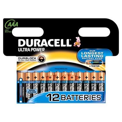 Duracell AAA Duralock Ultra Power 12 stk