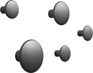 The Dots krok svart, 5-pack