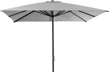 Oasis parasoll Grey/aluminium 3 x 3 m