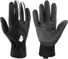 Männer Winter Warm Touchscreen Wasserdichte Outdoor Ski Fahren Polyester Fleece Vollfinger-Handschuhe
