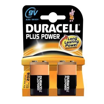 Duracell 9V Plus Power 2 kpl