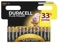 Duracell AAA Plus Power 12 kpl