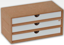 Hobbyzone Module OM02a 3x Drawers 3 skuffer med skillevegger - 30 cm