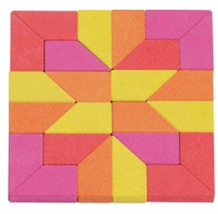 Mosaik-pussel i sten - Sumala (24 bitar)