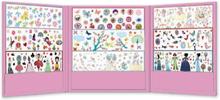 1000 klistermärken (rosa)