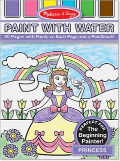 Måla med vatten - Prinsessor