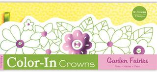 Måla din egen krona - Trädgårds feér