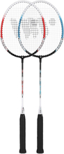 Badmintonset (röd, lime &amp silver) ALUMTEC 308