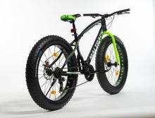 "Fat bike Jagura 26"" - Grön"