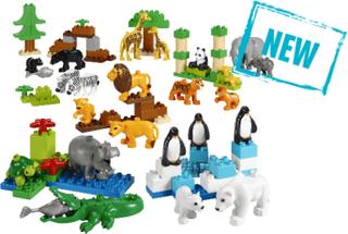 Lego Duplo Vilda Djur