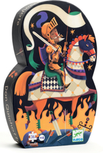 Djeco silhuettpussel - Don Quixotte (36 bitar)