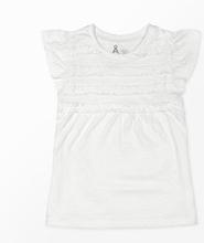 T-shirt med volang