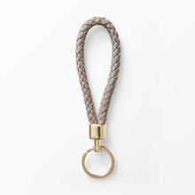 Nyckelring flätad, 10,5 cm