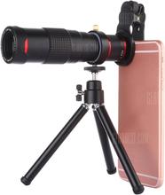 22x Universal Dual Adjustment Mobile Phone Telephoto Lens Multi-layer Coating Tripod