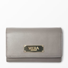 Plånbok i skinn, 14x9x2 cm