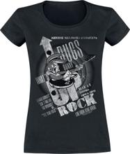 Looney Tunes - What's up Rock -T-skjorte - svart