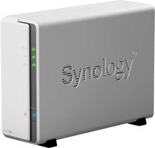 Synology DiskStation DS120J NAS-serverhölje 1 Bay Hårdvaru-kryptering