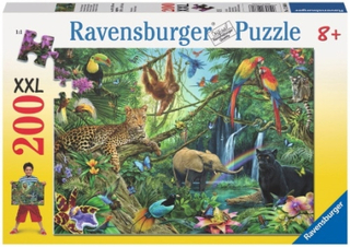 Ravensburger, Animals in the Jungle, (200)