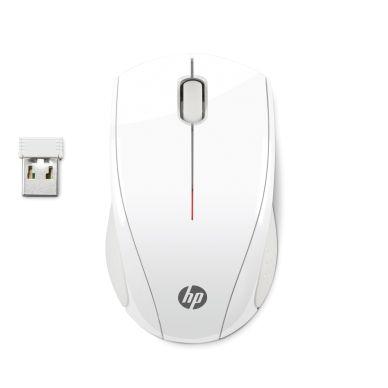 HP HP X3000 Trådløs mus, Blizzard White