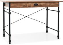 vidaXL Kirjoituspöytä vetolaatikolla 110x55x75 cm tammen värinen