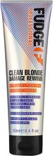 Köp Clean Blonde Damage Rewind Violet Toning Conditioner, 250 ml Fudge Conditioner - Balsam fraktfritt