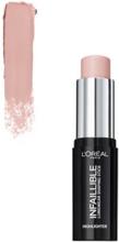 L'Oréal Paris Infaillible Highlighting Stick Blush Rose