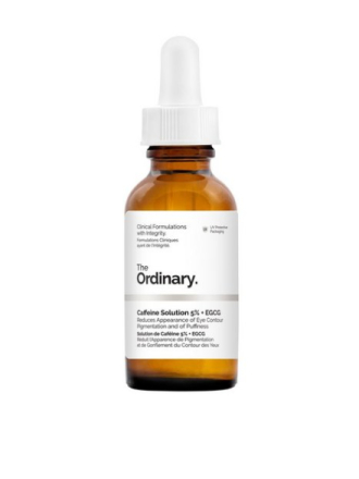 Pleie for øynene - Transparent The Ordinary Caffeine Solution 5% + EGCG 30ml