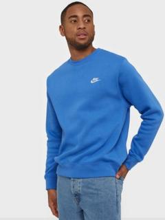 Nike Sportswear M Nsw Club Crw Bb Trøjer Blue