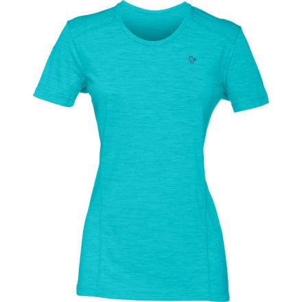 Norrøna Wool T-shirt Women (2018) Dam T-shirt Blå M