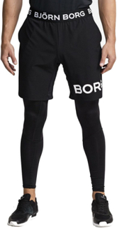 Björn Borg August Shorts - Shorts - Black Beauty - XXL