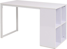 vidaXL Kirjoituspöytä 120x60x75 cm valkoinen