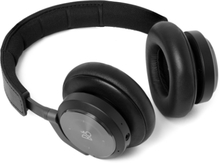 H9i Leather Wireless Headphones - Black