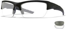 Wiley X Valor Smoke Grey/Clear - Taktiske briller - Matte Black