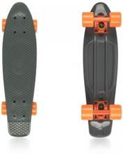 Fish Skateboards Pennyboard Classic 22'', grey/orange, Fish Pennyboard