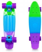 Worker Pennyboard Sunbow 22, green/blue/violet, Worker Pennyboard