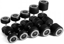 Abilica Rubber Dumbbell, Abilica, 2x5 kg Manualer