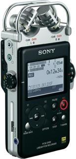 Bärbar ljudinspelare Sony PCM-D100 Svart/Silver