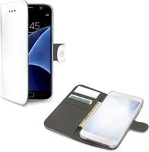 Celly Wallet Case Galaxy S8 Vit